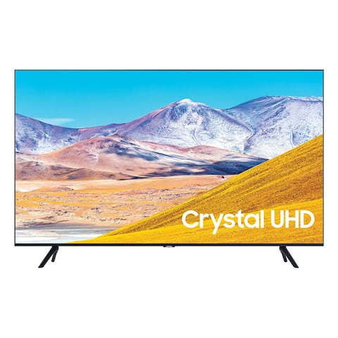 "Samsung UN75TU8000 75"" 4K UHD Smart TV - Steel"