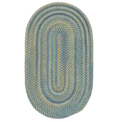 Colonial Mills Westcott Indoor Space-dyed Wool Braided Rug