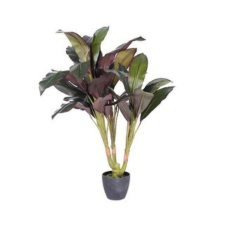 Vickerman T160930 Real Touch Dracaena X3 Everyday Tree in pot - 30 in.
