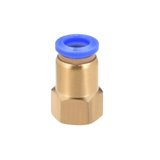 """1/4"""" G Female Straight Thread 8mm Push In Joint Pneumatic Quick Fittings - 1/4"""" G x 8mm"""