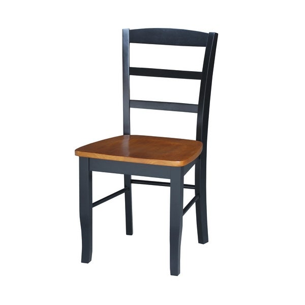 International Concepts Madrid Ladderback Chairs (Set of 2) - N/A. Opens flyout.