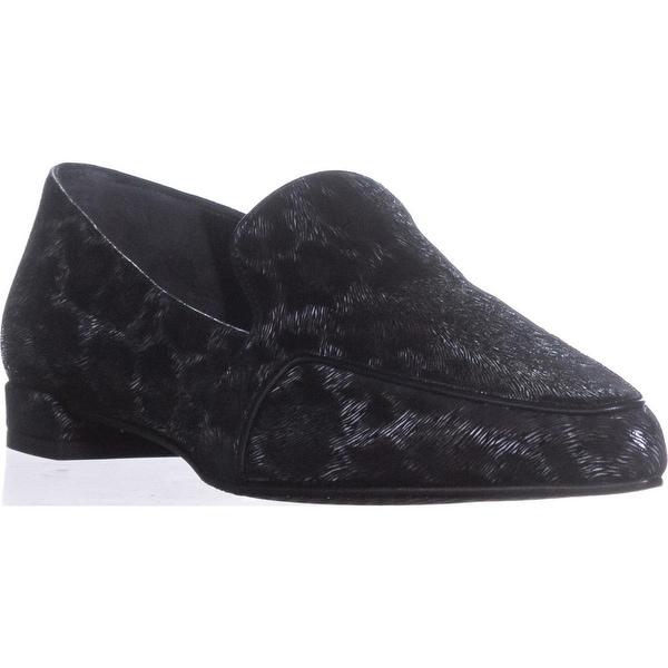 Stuart Wietzman Pipelopez Pointed-Toe Loafers, Ink Puma