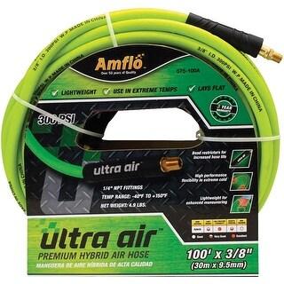 Amflo 575-100A Ultra Air Hybrid Air Hose, 100', Green