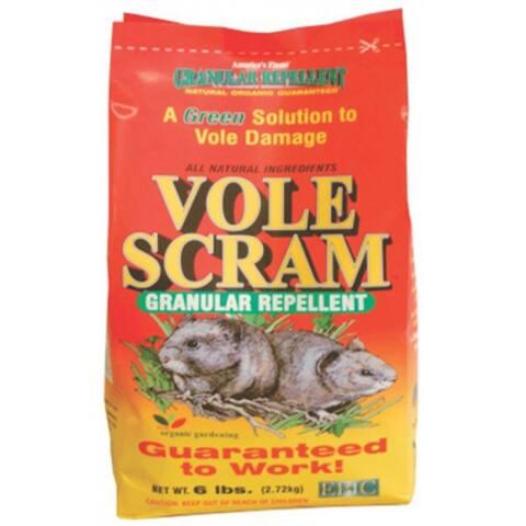 EPIC Vole Scram Granular Repellent 18006, 6 lb