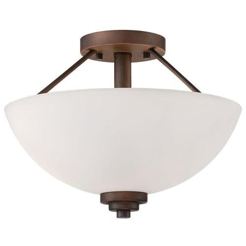 Millennium Lighting 3152 Durham 2 Light Semi-Flush Ceiling Fixture