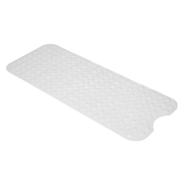 OOCC 27.5 x 15.7 Inch Non Slip Baby Bath Mat with Suction Cups for Tub Animal World Shower Cute Pattern Design Bathtub Mat for Kids
