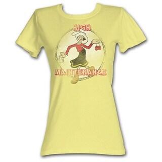 Popeye Comics H&M Juniors Short Sleeve T Shirt