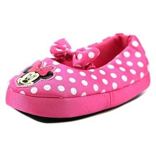 Disney Minnie Slipper Toddler Round Toe Synthetic Slipper