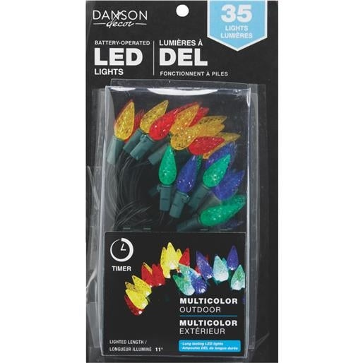 Danson Decor 35Lt Mult B/O C6 Led X78002 Unit: EACH