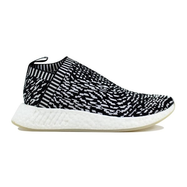 hot sale online e4d80 aab72 Shop Adidas Men's NMD CS2 Primeknit Black/White Sashiko ...