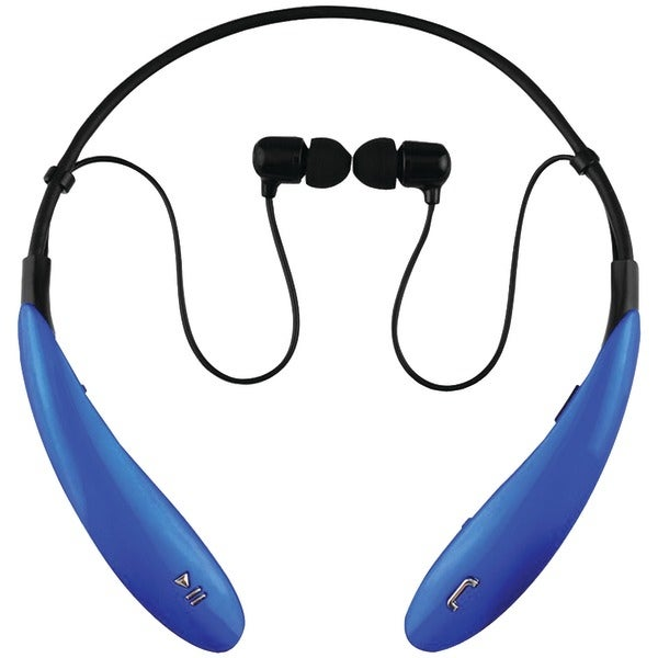 Supersonic Iq-127Bt Blue Iq-127 Bluetooth(R) Headphones With Microphone (Blue)