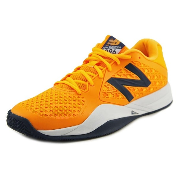 New Balance MC996 Men Round Toe Synthetic Orange Tennis Shoe