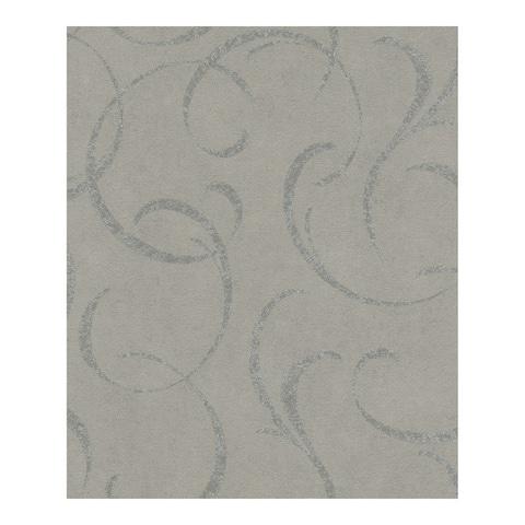 Lysander Grey Scrolls Wallpaper - 20 x 396 x 0.025
