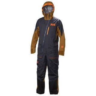 Helly Hansen Men's Ullr Powder Ski Suit - 65565 - Neon Orange