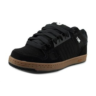DVS Celsius Men Round Toe Leather Black Skate Shoe