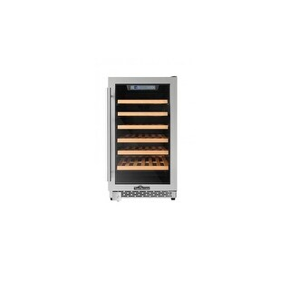 "Thor Kitchen HWC2405 18"" Wide 40 Bottle Capacity Free Standing Single Zone Wine Cooler with Digital Controls"