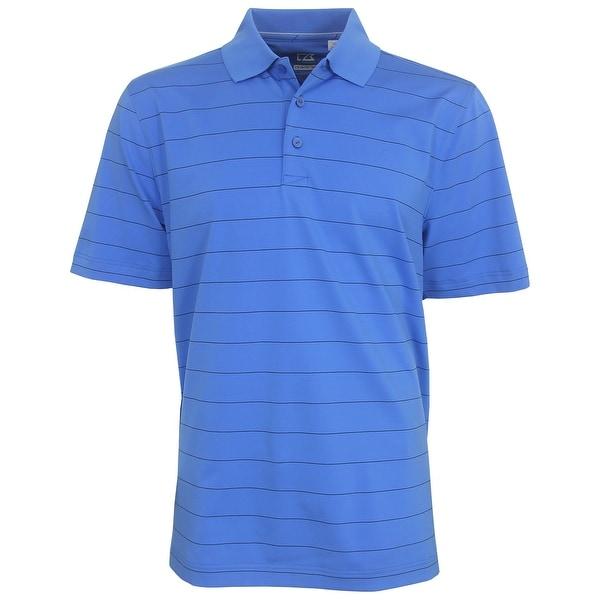 Cutter & Buck Men's Proxy Striped Polo Golf Shirt,  Brand NEW