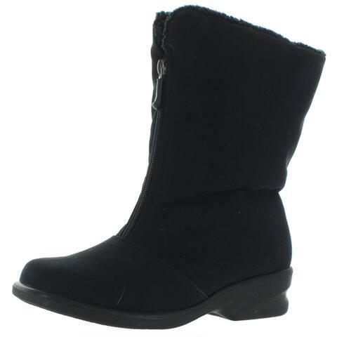 Toe Warmers Womens Michelle Winter Boots Waterproof Fleece Lined
