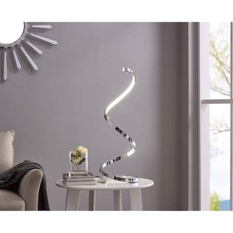 Modern Spiral LED Table Lamp