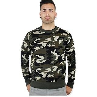 Camouflage Fashion Sweater (CA-625)