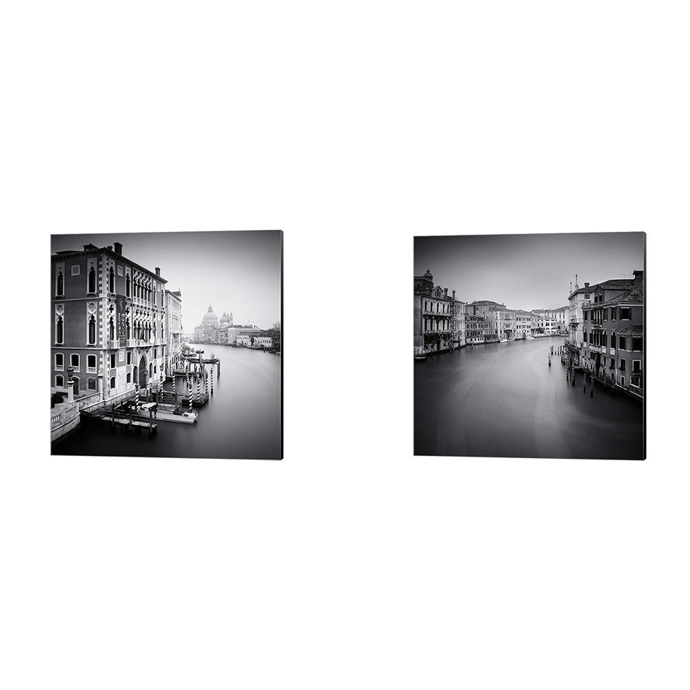 Nina Papiorek Canal Grande Canvas Art Set Of 2 Overstock 31417079