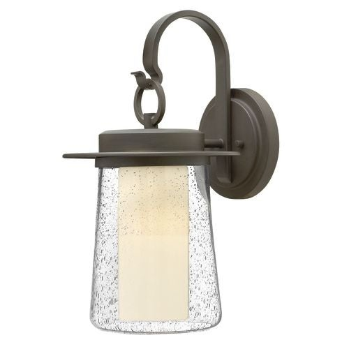 "Hinkley Lighting 2014-LED 1 Light 18.75"" Height LED Outdoor Lantern Wall Sconce from the Riley Collection"