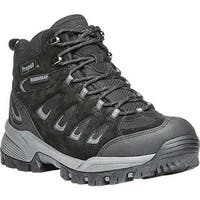 Propet Women's Ridge Walker Hiking Boot Black Suede/Mesh