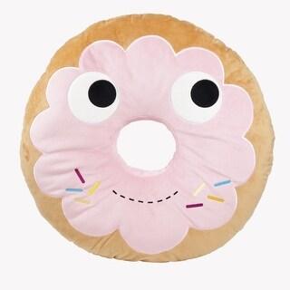 """Yummy World 10"""" Designer Plush: Yummy Pink Donut"""
