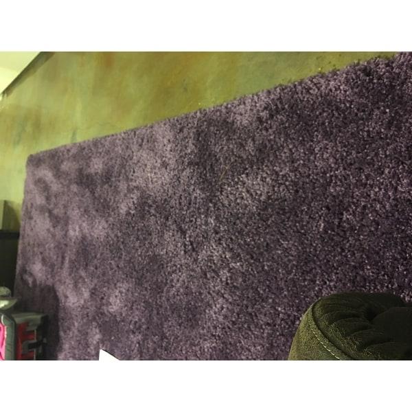safavieh milan shag navy blue rug 5u00271 x 8u0027 free shipping today