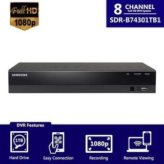 SDR-B74301 (1TB) - Samsung 8Ch HD DVR from SDH-B74041