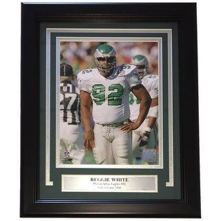 Reggie White Framed 8x10 Philadelphia Eagles Photo