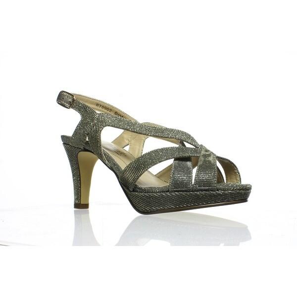 Maripe Women's Maripe Womens 'Elissa' High Heel Strappy Sandals 6 Gold Medium from Groupon | more