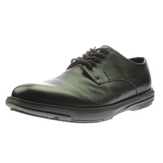 Dr. Scholl's Mens Hiro Work Shoes Leather Cool Fit - 8.5 medium (b,m)