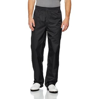 Adidas Men's Climaproof Provisional Packable Black Rain Pants B81986