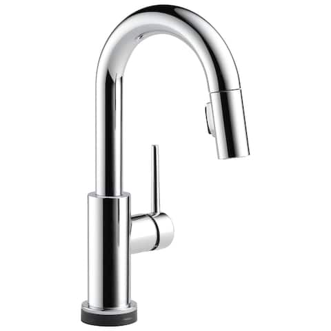 Delta Trinsic Single Handle Pull-Down Bar / Prep Faucet with Touch2O Technology