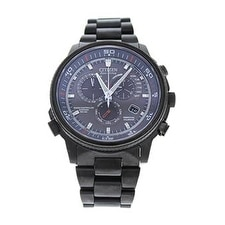 Citizen At4117-56h Eco-Drive Nighthawk A-T Gray Ion-Plated Stainless Steel Watch Watch For Men