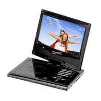 "Supersonic 9"" Portable DVD Player with Swivel Display"