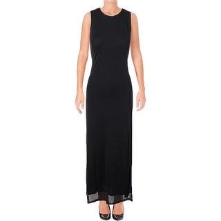 Ralph Lauren Womens Casual Dress Sleeveless Hidden Back Zip