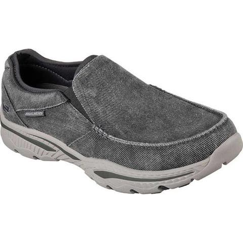 ba9cf3bb96c0 Skechers Men s Relaxed Fit Creston Moseco Loafer Charcoal. Was.  61.95.   12.39 OFF. Sale  49.56