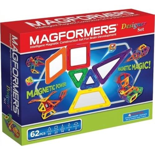 Magformers Designer 62 Piece Magnetic Set