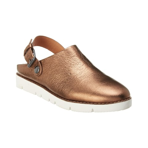 Gentle Souls By Kenneth Cole Backstrap Esther Leather Clog