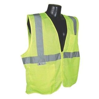 Radians SV2ZGM2X Class 2 Economy Mesh Safety Vest, 2X-Large