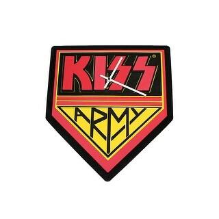 KISS Army Foam Clock