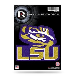 LSU Tigers Decal 5 5x5 Die Cut Bling