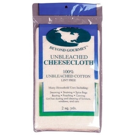 Beyond Gourmet 044 Ubleached Cheesecloth, 2 sq. Yards