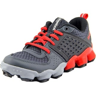 Reebok ATV19 Ultimate II Youth Round Toe Leather Red Running Shoe