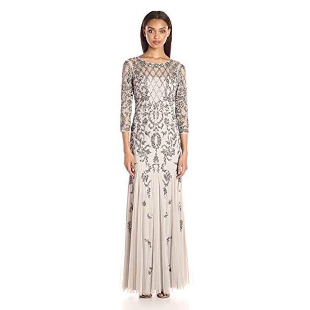 96d6fb4af19384 Grey Adrianna Papell Dresses | Find Great Women's Clothing Deals Shopping  at Overstock