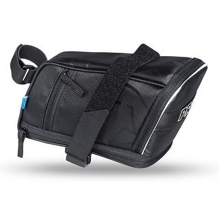 PRO Maxi Plus Strap Bicycle Saddle Bag - Black
