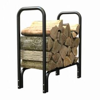 Panacea 15215 Deluxe Steel Log Rack, Black, 2'
