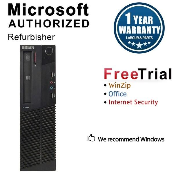 Lenovo ThinkCentre M81 Desktop Computer SFF Intel Core I5 2400 3.1G 16GB DDR3 1TB Windows 10 Pro 1 Year Warranty (Refurbished)